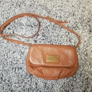 Marc by Marc Jacobs Brown Leather Crossbody Bag
